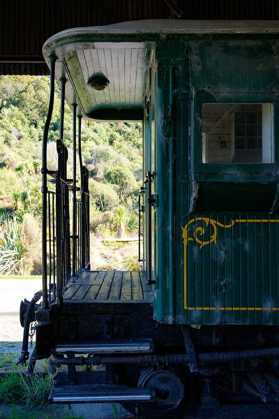 Kingston Flyer heritage railway , near Queenstown, South Island, New Zealand