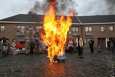 Einde van het carnaval in Steendorp 2006