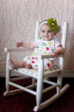 Chloe six months