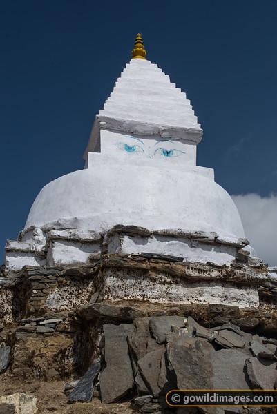 Stupa near Pangboche