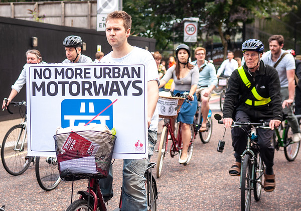 Boris and the battle for Blackfriars: flashrides and cycle superhighways