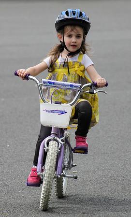 Eli, Ezra, Clover Bike riding