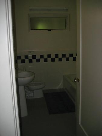 The main White bathroom