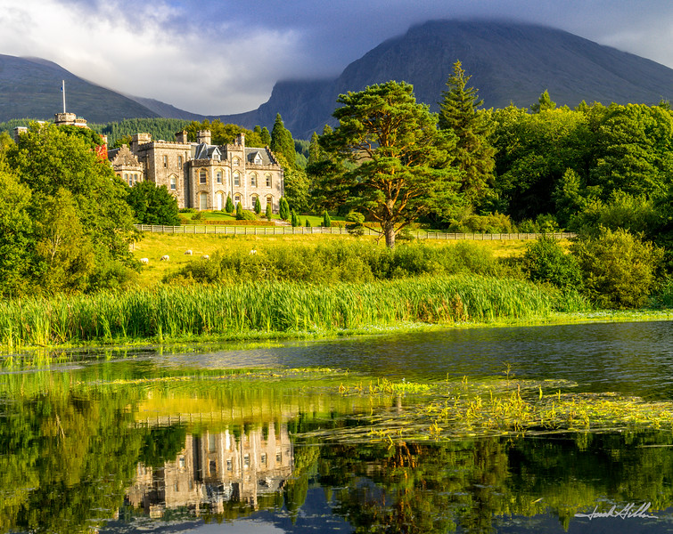 Early evening at Inverlochy Castle