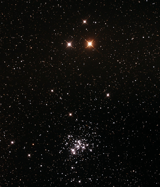 Caldwell C76 - NGC6242 - False Comet Cluster near Zeta Scorpii - 23/6/2015 (Re-Processed cropped stack)