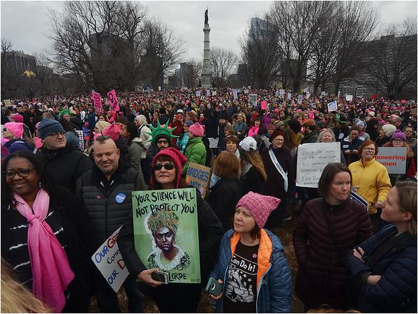 Women's March Boston