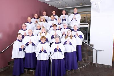 Market Square Presbyterian Church Choir 2019