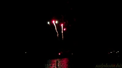 New London Water Days Fireworks Show