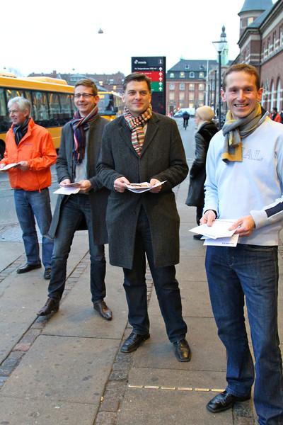Venstre - Gadeaktion mod løftebrud
