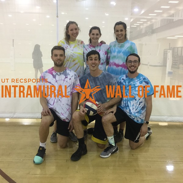 Spring 2018 Volleyball Coed A Runner Up Magic Manatees