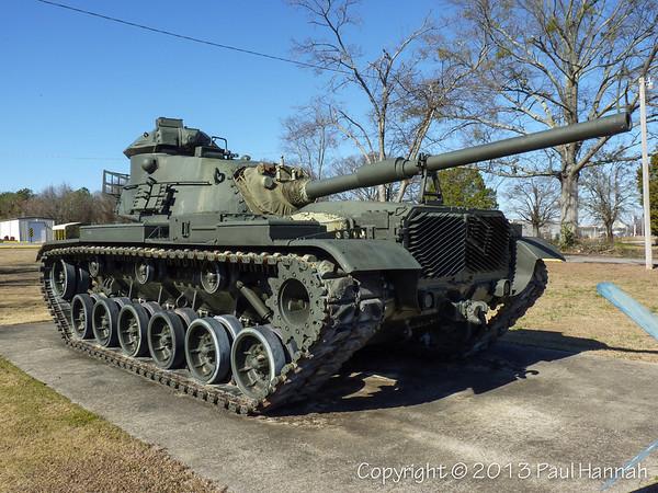 AL Post 15 - Decatur, AL - M60A0