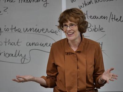 Dona Warren's Philosophy lecture
