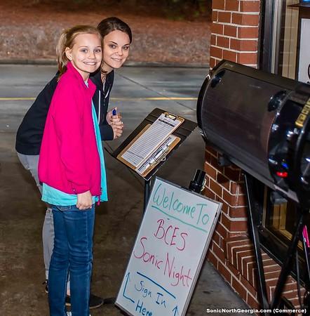 Banks County Elem Sonic Spirit Night Feb 2019