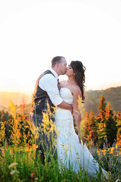 Desiree and Shawn {Bogus Basin Wedding 2017}