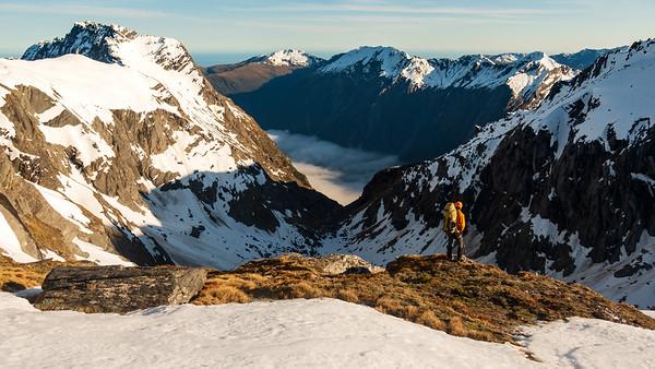 Mt McCullaugh and Lantern Peak, 20-23 October 2018