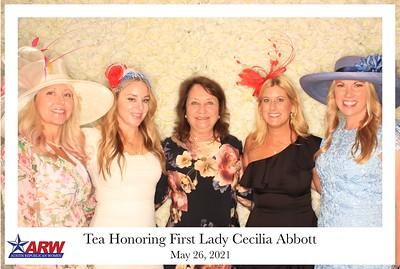 Tea Honoring First Lady Cecilia Abbott