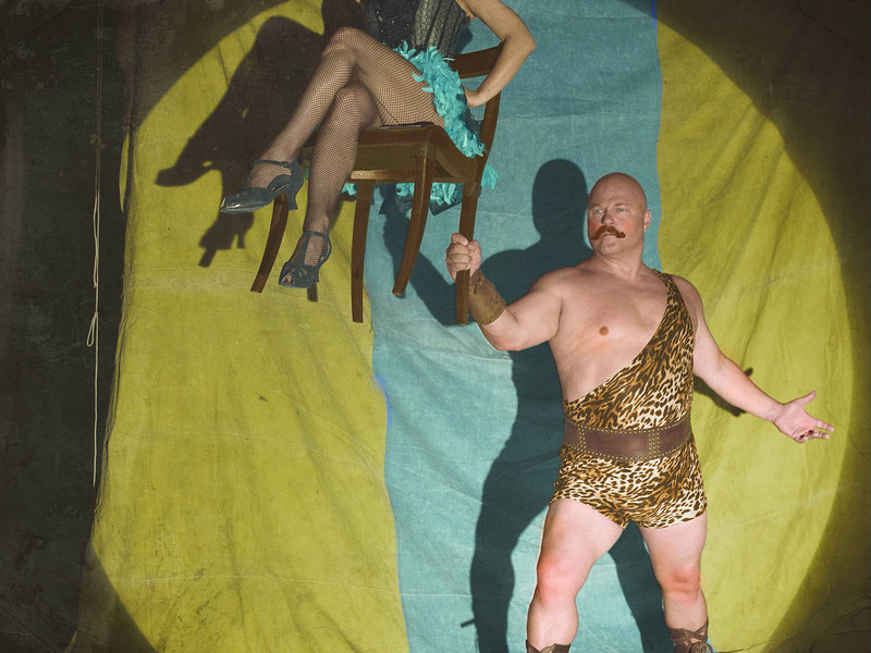 """. Michael Chiklis as Dell Toledo in FX\'s \""""American Horror Story.\"""" (Photo by Frank Ockenfels/FX)"""