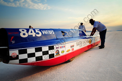 Bonneville 2012 Speed Week Streamliners and Lakesters