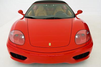 Ferrari 360 Spider Convertible 2004