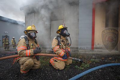 2020-09-27 - LVFD Live Burn Training at Salem
