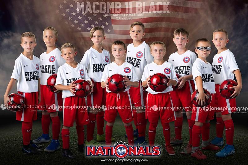2019-2020 Nationals Soccer Team Session Information