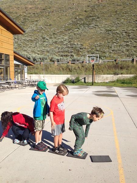 8.10.15 Trail Trekkers Group 1