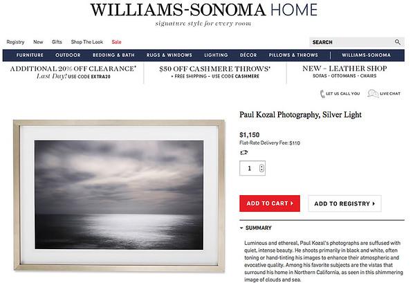 Paul Kozal @ Williams-Sonoma Home