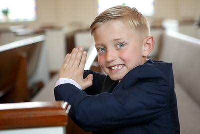 Kevin's First Communion