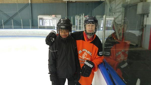 Cours de patin - 14 avril