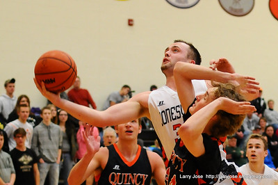 Jonesville vs Quincy V Boys Basketball