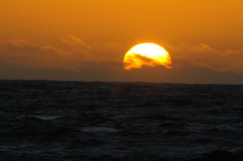 Cortez Banks Sunset
