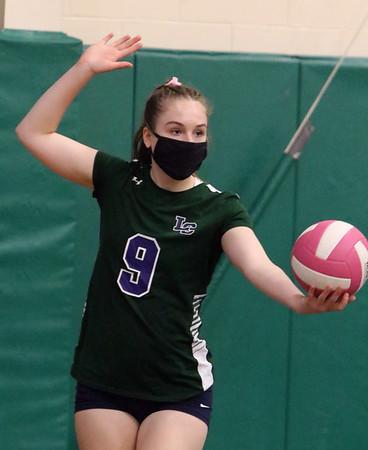 Lowell Catholic volleyball's Madi Franz 100121