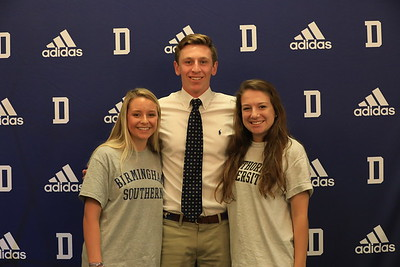 College Signings 8 May 2018