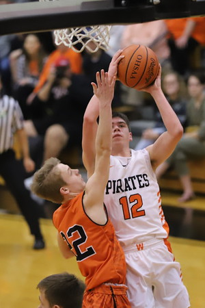 10V Boys Basketball:  Ironton at Wheelersburg 2020