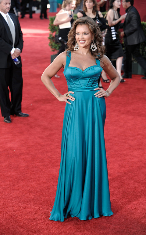 . Vanessa Williams arrives at the 61st Primetime Emmy Awards on Sunday, Sept. 20, 2009, in Los Angeles. (AP Photo/Chris Pizzello)
