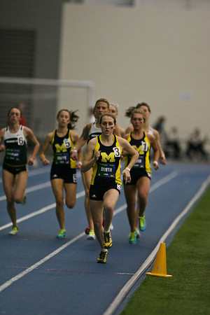 800 Meters - 2013 UM vs MSU Indoor Meet