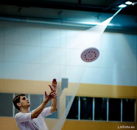 Halové MČR ve frisbee