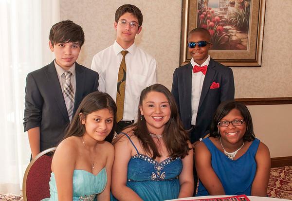 2014 8th Grade Dinner