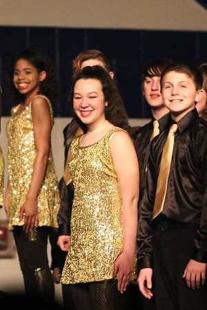 McKinley at the Jefferson Show Choir Invitational 3/3/17