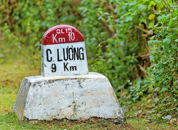 Paysages aux alentours de Cua Long