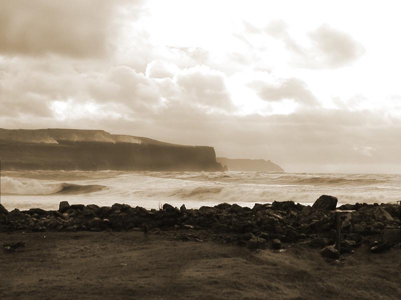 Cliffs of Moher Sepia 2A.jpg