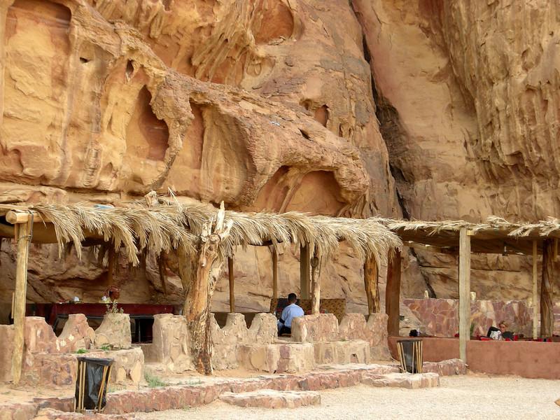 Bedouin operated campground, Wadi Rum