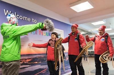 Arrivals - Nuuk