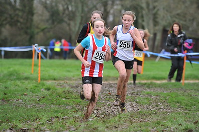 Under 13 Girls - Hants X/C Championships