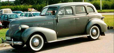 1939 Chevy European