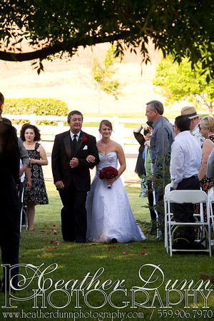 Ceremony - Walking down the aisle