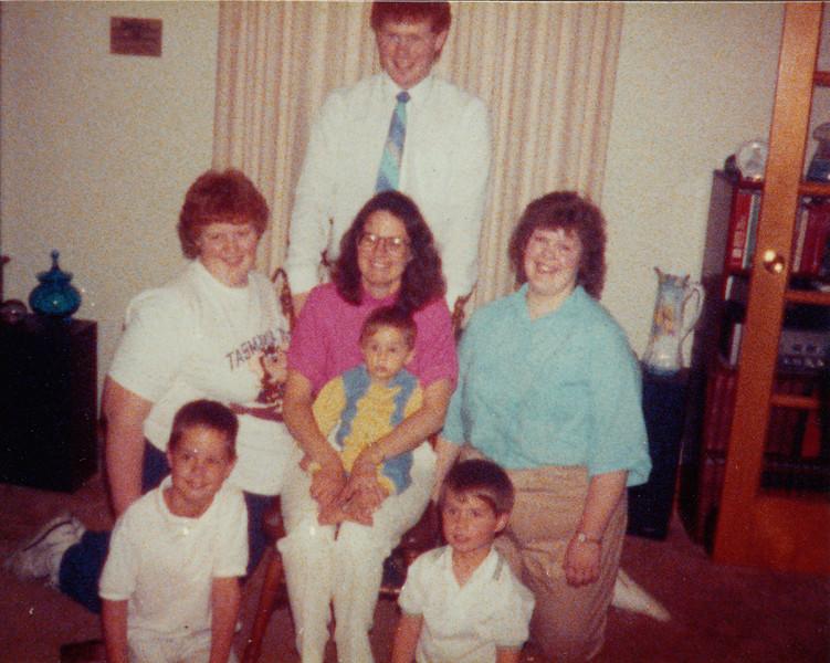 Stephen Sullivan, Joyce Sullivan, Jane Hiller, Jacob Hiller, Samantha Sullivan, Zachary Hiller & Andrew Hiller - circa 1987.jpg