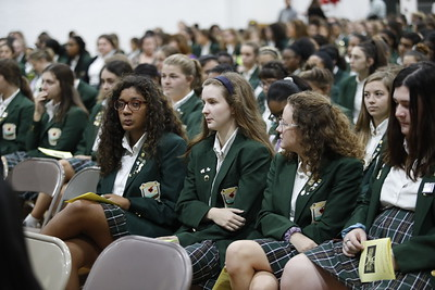 Student Council Mass and Induction