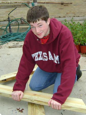 Mason's Eagle Project 2008-11-29