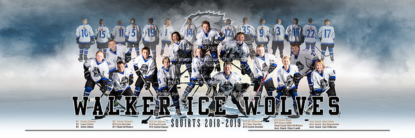 WALKER WOLVES SQUIRTS CANVAS